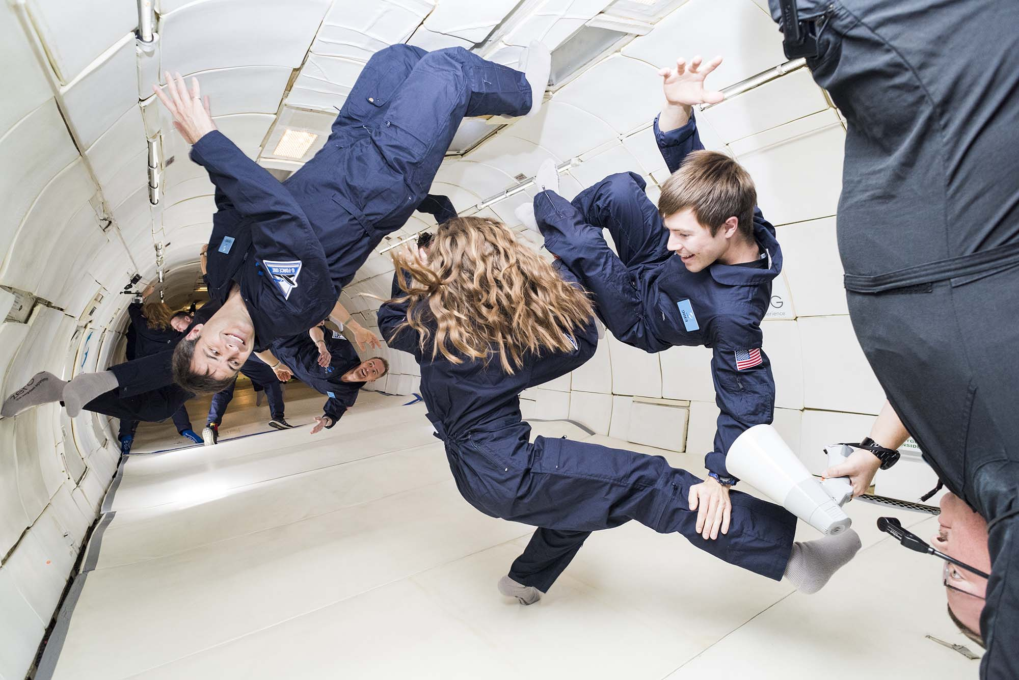 Bob Croslin florida photographer Zero gravity flights for Smithsonian magazine