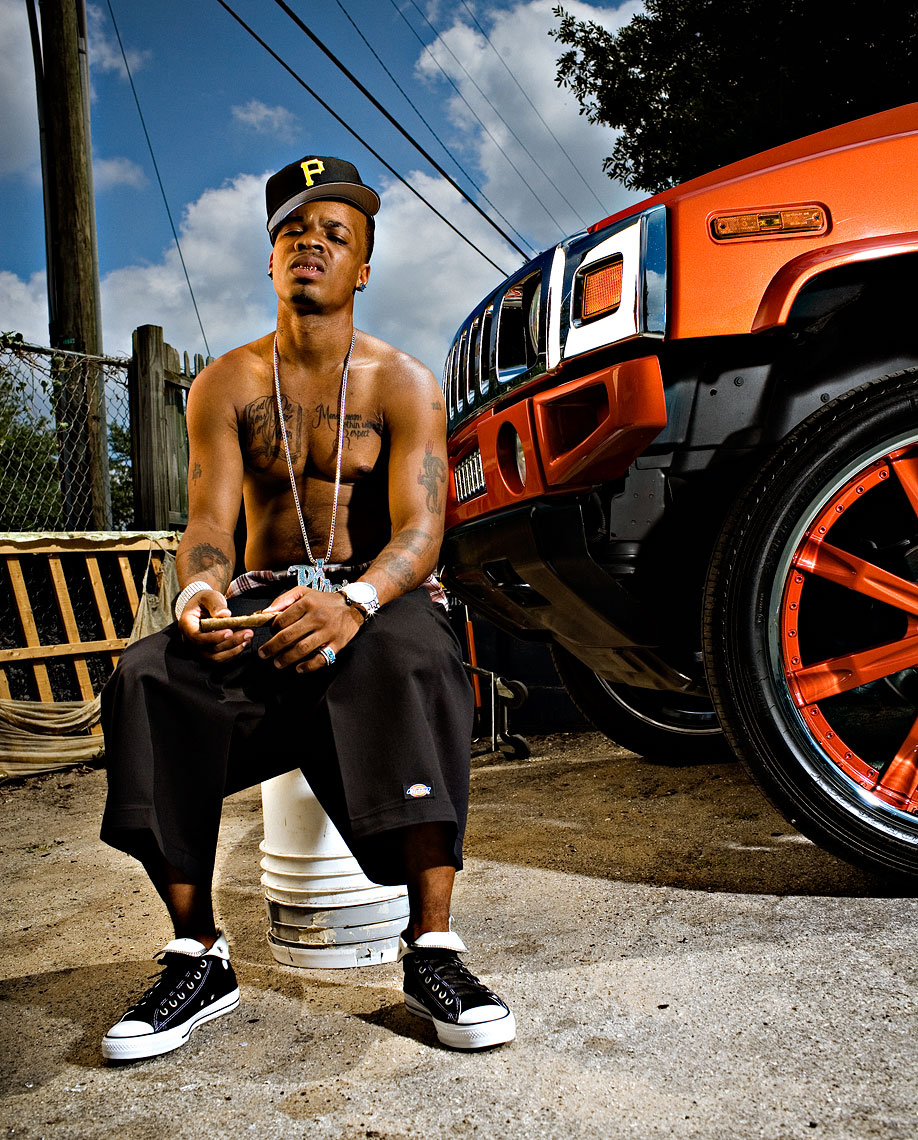 Florida hip-hop photographer Bob Croslin  Plies