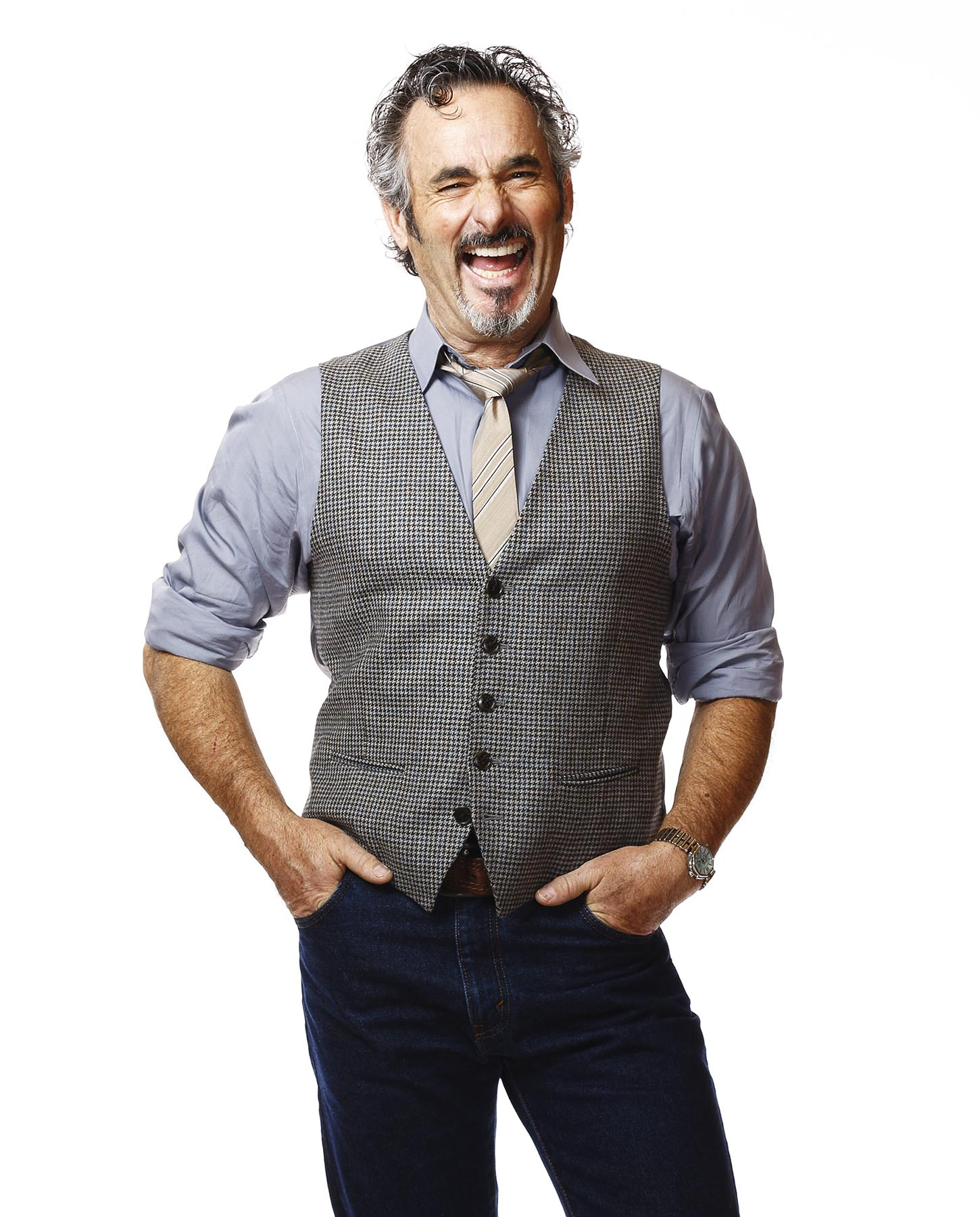 Orlando photographer Bob Croslin David Feherty for Golf Digest